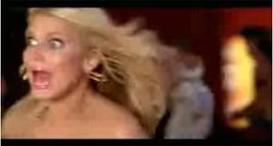 Still from Jessica Simpson - A Public Affair video