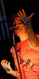 Glastonbury 2007: Regine Chassagne of Arcade Fire