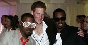 Kanye West, Prince Harry, P Diddy