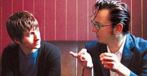 Alex Turner and Richard Hawley