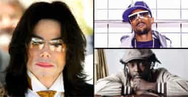 Michael Jackson, Kanye West, will.i.am