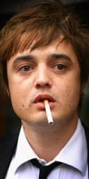 Pete Doherty and fag