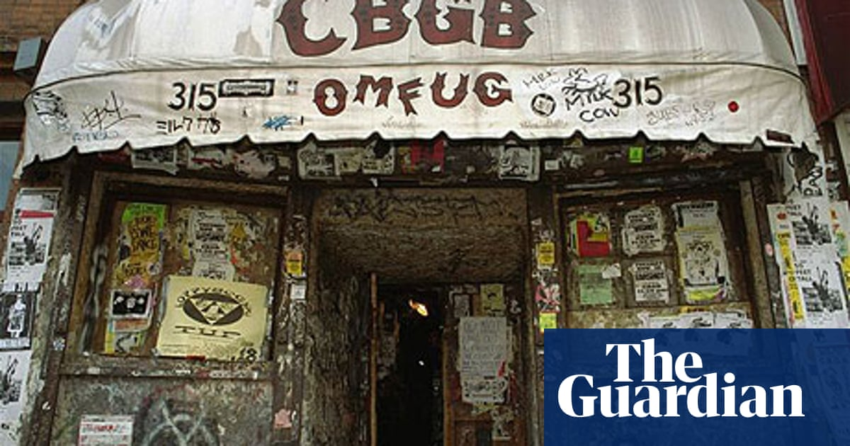 The CBGB scene - a classic piece from the vaults | Music | The ...