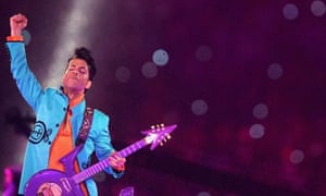 Prince at the Super Bowl February 2007