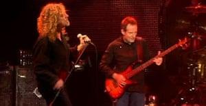 Led Zeppelin comeback concert at 02