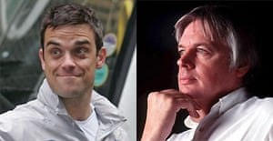 Robbie Williams and David Icke