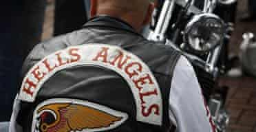 Hell's Angels jacket print