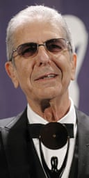 Leonard Cohen inducted into the Rock and Roll Hall of Fame