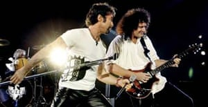 Paul Rodgers and Brian May