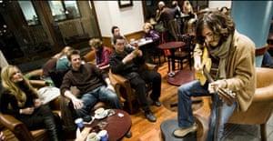 Jack Savoretti performing in Caffe Nero