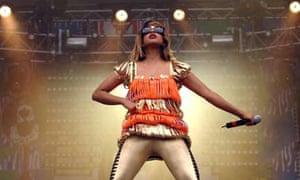 MIA at the Rock en Seine music festival in 2007
