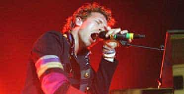 Coldplay live at Brixton Academy