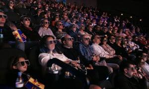 A Crowded Cinema Audience