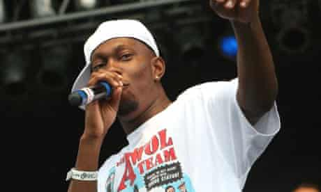 Rapper Dizzee Rascal performs at the Pitchfork Music Festival in Chicago in July 2008