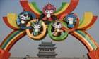 """Beijing Olympic rings"""