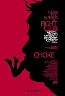Cover of Chuck Palahniuk's novel, Choke