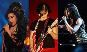 Amy Winehouse, Jack White and Alicia Keys montage