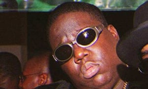 Notorious BIG aka Christopher Wallace aka Biggie Smalls