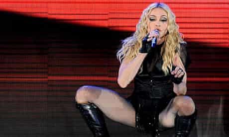Madonna live in Rome