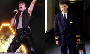 Renaissance man Bruce Dickinson as Pilot and lead singer of Iron Maiden
