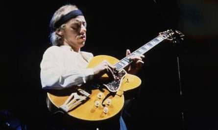 Mark Knopfler of the rock band Dire Straits