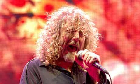 Robert Plant lead singer Led Zeppelin