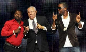 Colin Powell performing with Olu Maintain at the Africa Rising Festival, London