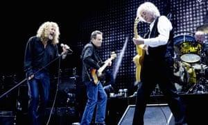 Led Zeppelin in December 2008