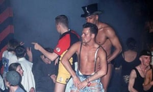 Nightclubbers at the Hacienda