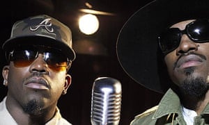 Big Boi and Andre 3000 from OutKast