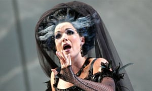 Heather Buck as The Queen Of The Night in ENO's The Magic Flute