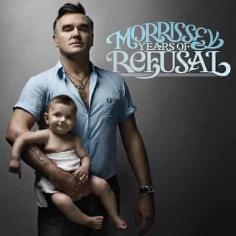 Morrissey on the cover of Years of Refusal