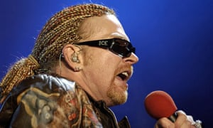 Axl Rose's favourite books | Books | The Guardian