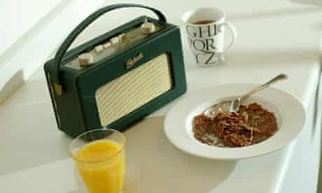 A digital radio and breakfast