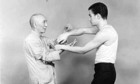Ip Man with Bruce Lee