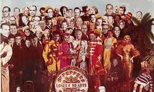 Capitol Records edition of the Beatles Sgt Pepper's Lonely Hearts Club Band