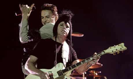 Depeche Mode guitarist Martin Gore