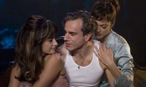 Penelope Cruz, Daniel Day-Lewis and Marion Cotillard in Nine