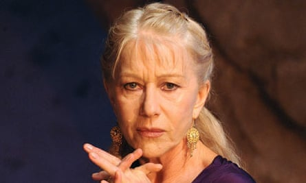 Helen Mirren as Phedre at the Lyttelton
