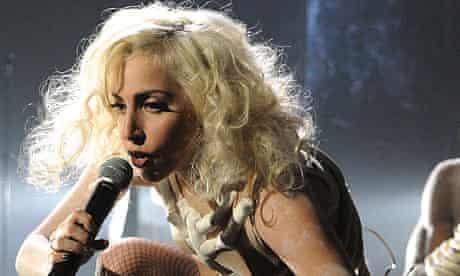 Lady Gaga at the American music awards 2009
