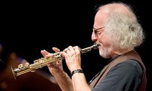 Jazz musician Larry Ochs
