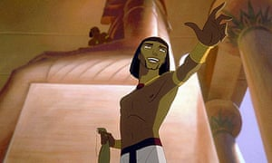 Scene from The Prince of Egypt (1998)