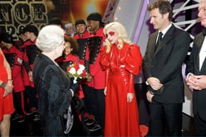 Lady Gaga Variety Show: Lady Gaga meets the Queen