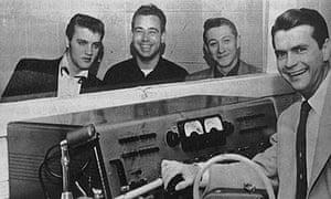 Elvis Presley and Sam Phillips