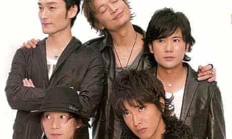 Japanese pop band SMAP