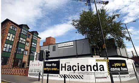 Hacienda apartments in Manchester