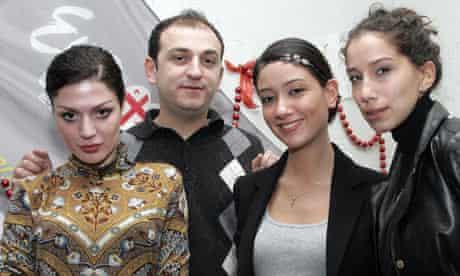 Eurovision 2009: Georgia's band Stephane and 3G
