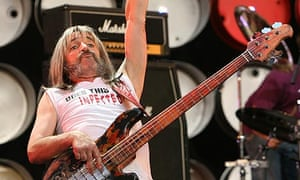 Harry Shearer of spoof band Spinal Tap