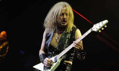 Judas Priest performs live