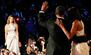 Beyonce performs for Barack and Michelle Obama